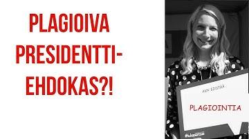 Laura Huhtasaari ja nolo plagiointi + mediakriittisyys