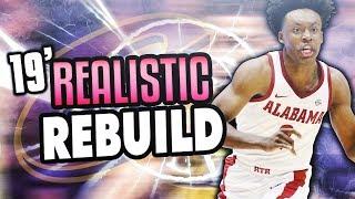 LEBRON RETURNS?! 2019 CAVS REALISTIC REBUILD! NBA 2K18