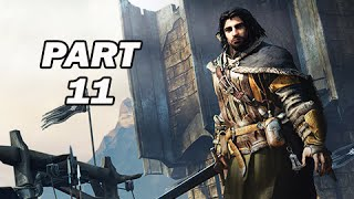 Middle Earth Shadow of Mordor Walkthrough Part 11 (PC 1080p Gameplay)
