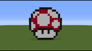 Minecraft Tutorial Ep.5: How To Make A Mario Mushroom