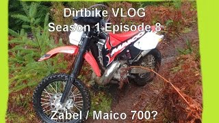 Is a Zabel 700 a Maico 700? (Dirtbike VLOG: S1 E8)