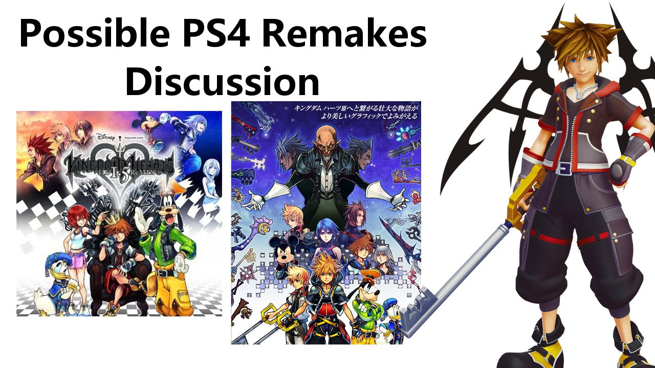 Possible Kingdom Hearts 1 5 and 2 5 Remakes on PS4