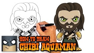 How to Draw Aquaman | Justice League