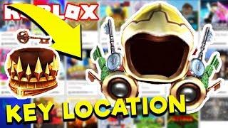🔴 ROBLOX LETS TROVA LA CHIAVE DI RAME OGGI! OTTENERE L'EVENTO DOMINUS D'ORO! (Evento Ready Player One)