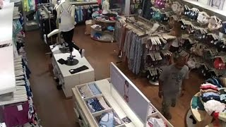 Surveillance video captures panty theft at Fashion Mall