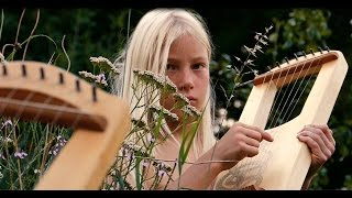 OMWOLDON - SAMHAIN ,  Father and son  playing celtic lyra