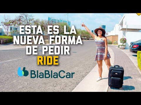 Blablacar como funciona / App para viajar barato / Jhoee