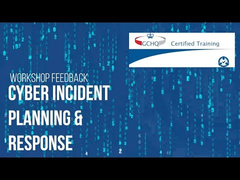 Cyber Security Training - GCHQ Cyber Incident Planning Response - cm-alliance.com