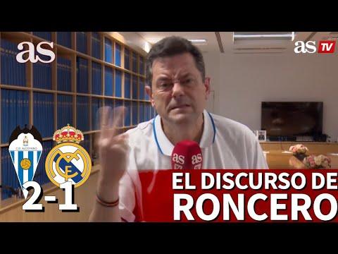 ALCOYANO 2- REAL MADRID 1 | Roncero y su duro discurso tras la debacle: HAZARD, ZIDANE... | AS