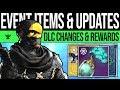 Destiny 2 | EVENT QUESTS & REWARD UPDATES! Mystery Item, Future DLC, Consumables, Feedback & More