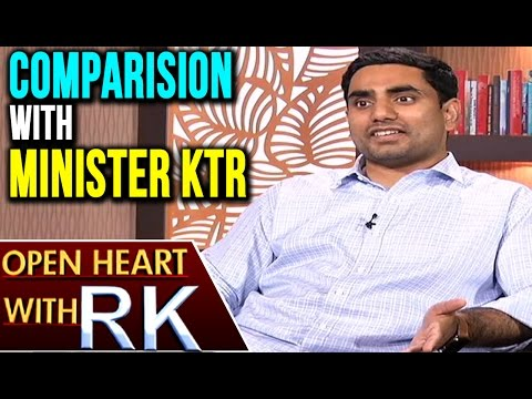 AP Minister Nara Lokesh About Comparision With Minister KTR | Open Heart With RK | ABN Telugu
