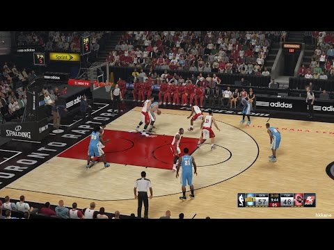NBA 2K15 Denver Nuggets Vs Toronto Raptors 08-12-2014