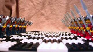 Epic Viking  War ~ the Lego Chess Battle Movie