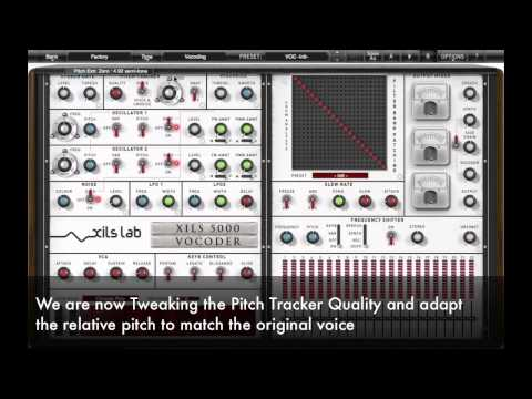 XILS Vocoder 5000 : Carrier Control Tutorial