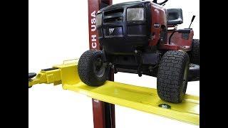 Two Post Lift Lawn Mower UTV Golf Kart Adapter