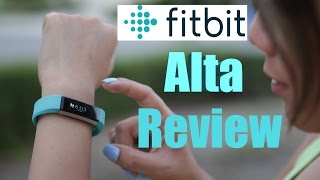 Fitbit Alta Review Fitness Activity Tracker