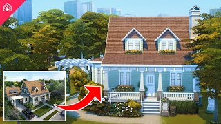 Cute Craftsman | Part 4: The living Space \u0026 Master Suite | The Sims 4: Build Club
