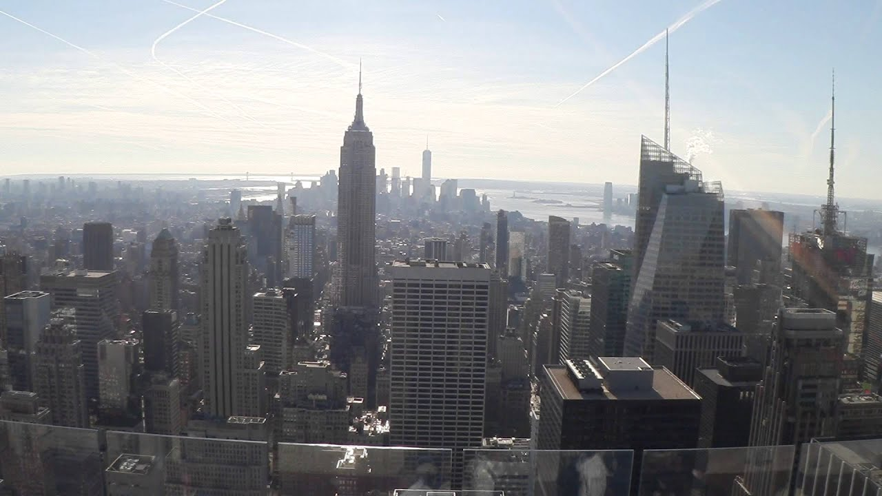 View From Empire State Building Observation Deck