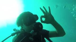 Scuba Diving at Phi Phi Island, Thailand