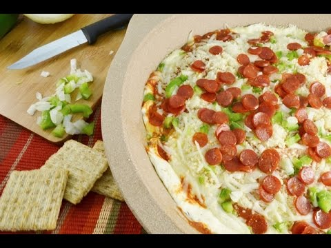 hot-pizza-dip-recipe---easy-appetizer- -radacutlery.com