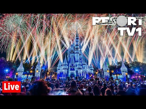 🔴Live: New Year's Eve Fireworks At Magic Kingdom - Walt Disney World Live Stream