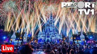 🔴Live: New Year's Eve Fireworks at Magic Kingdom - Walt Disney World Live Stream