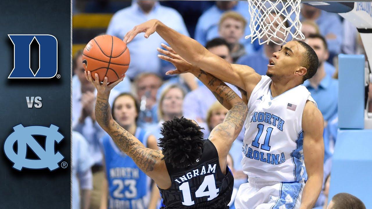 Duke vs. North Carolina Basketball Highlights (2015-16) | Doovi