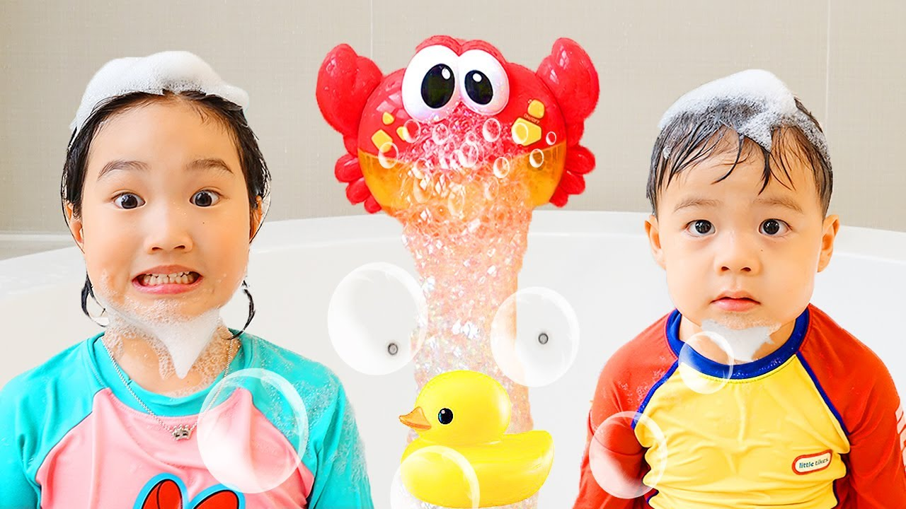 宝蓝和婴儿的沐浴歌 - 一首儿童歌曲