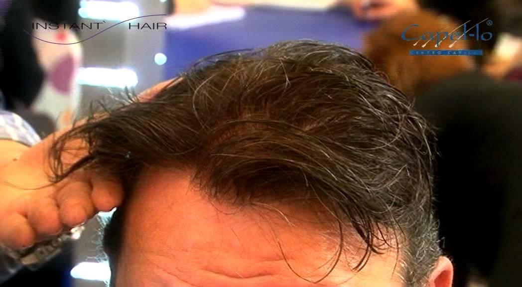 Prótesis Capilares INSTANT\' HAIR 2013 STS Beauty Barcelona - YouTube