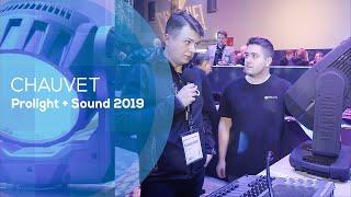 Chauvet Maveric MK3 - kolejne premiery (Prolight+Sound 2019)