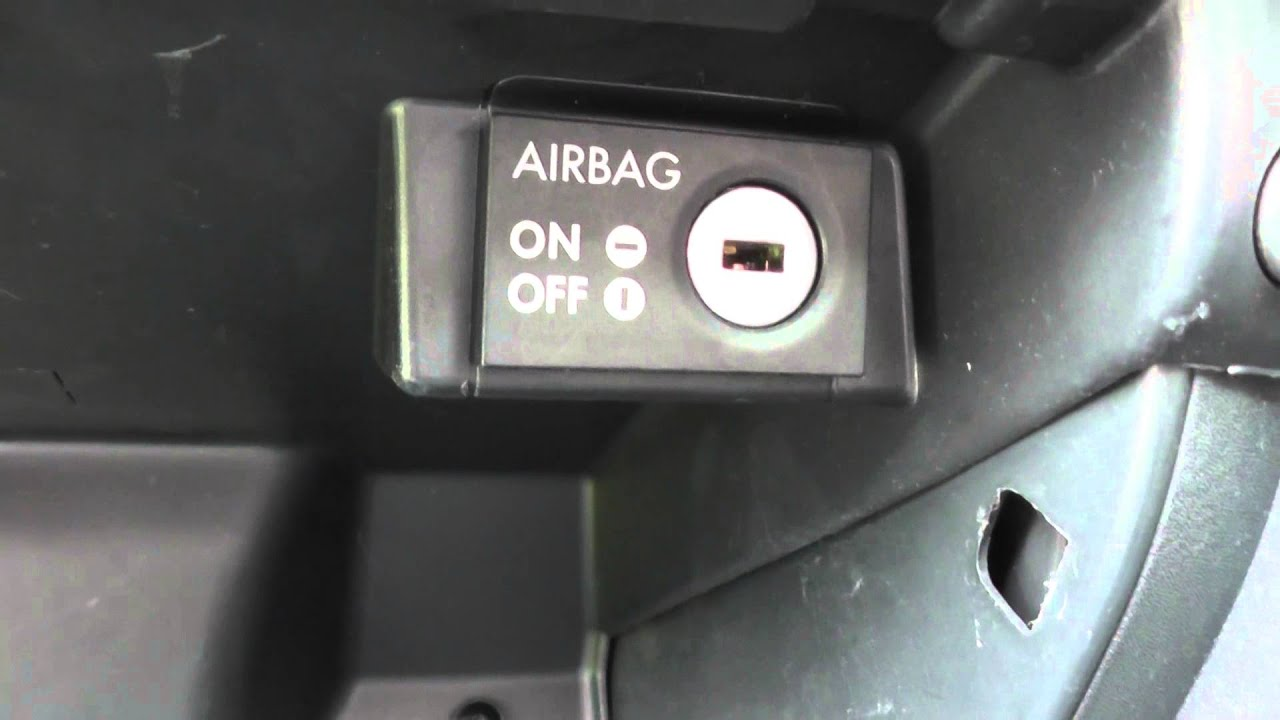 Seat Ibiza Front Passenger Airbag Turn Off For Child Baby