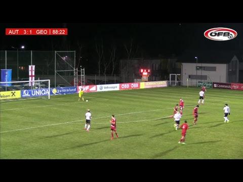 Freundschaftliches U18-Länderspiel: Österreich Vs Georgien
