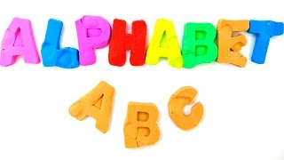 Learn Alphabet with Kinetic Sand | ABC Song For Kids | Sand alphabet | A to Z