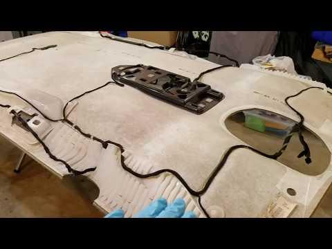 01 Dodge Grand Caravan Headliner Replacement - YouTubeYouTube