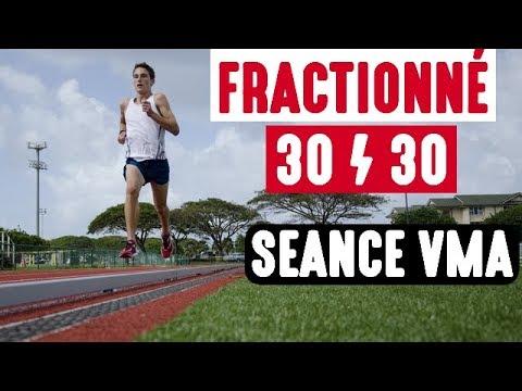 seance de fractionne course a pied