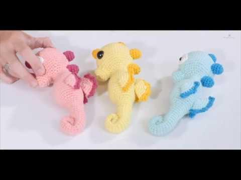 Cavalluccio Marino Amigurumi | How to crochet a Seahorse - YouTube | 360x480