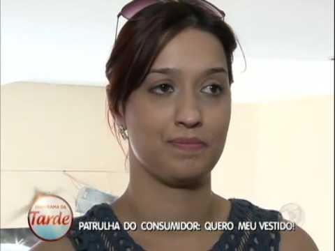 da05499662 Patrulha do Consumidor  Russomanno ajuda noiva sem vestido  ArquivoPatrulha