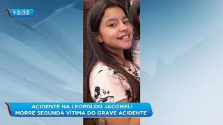 Morre segunda vítima do grave acidente na Leopoldo Jacomel