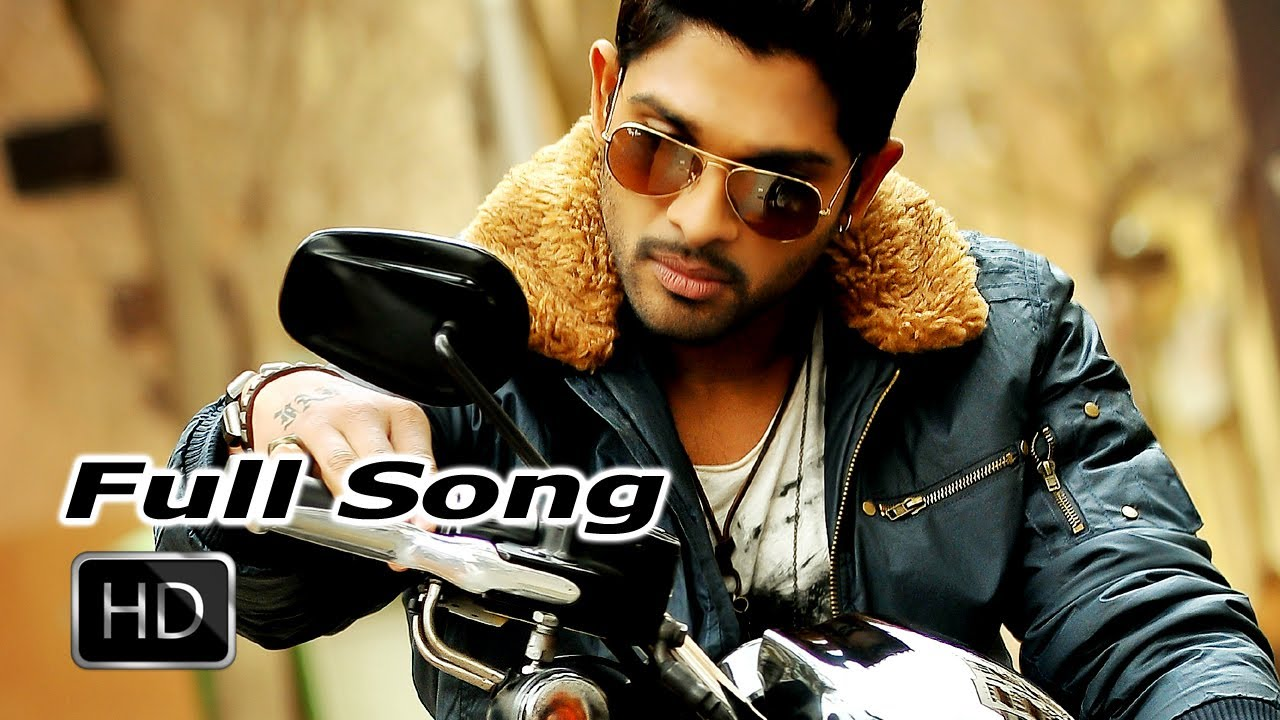 Iddarammayilatho movie | ganapathi bappa full song | allu arjun.
