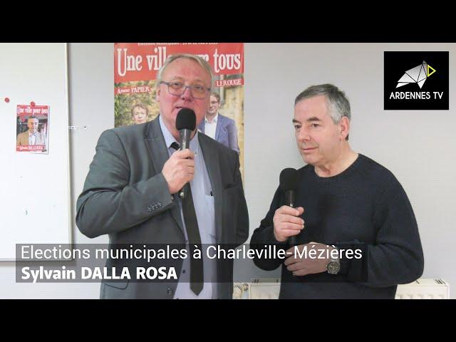 ÉLECTIONS MUNICIPALES 2020 À CHARLEVILLE-MÉZIÈRES - Sylvain DALLA ROSA
