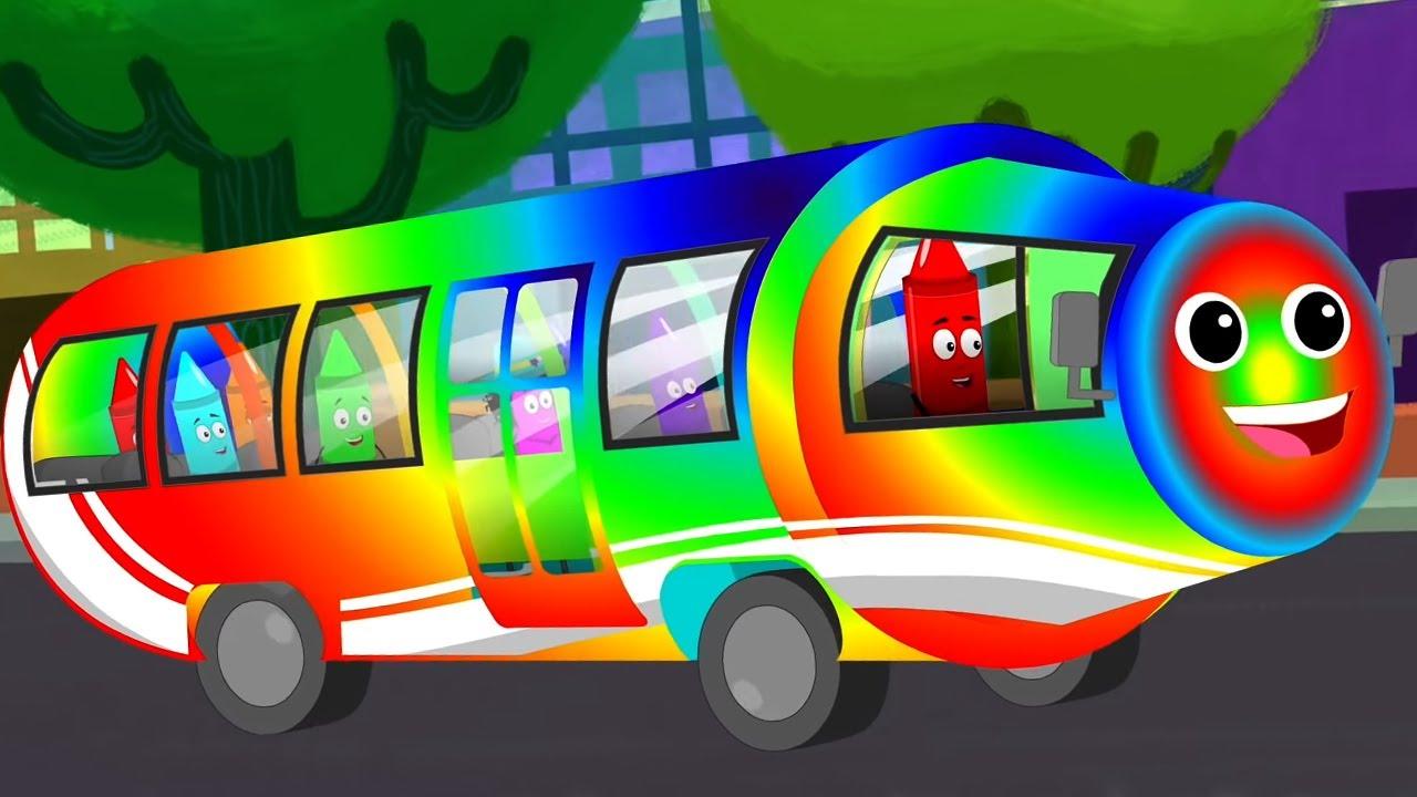 Rodas do ônibus   Desenhos animados educacionais   Musica infantil portuguesa   Poemas para crianças
