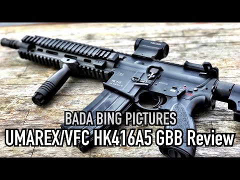 VFC HK416A5 GBBR Review