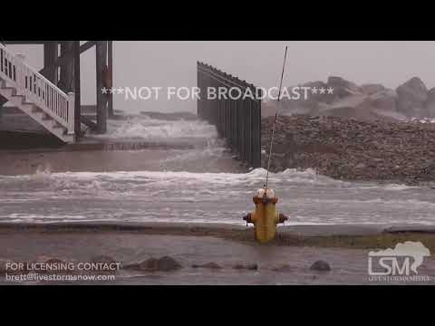 3-2-2018 Marshfield, Ma Huge waves and tidal surge flood town as residents flee