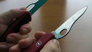 краткий обзор и впечатления от ножа Victorinox RangerGrip 79  0.9563.MC