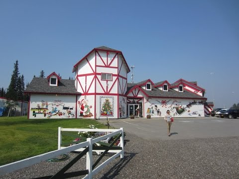 Christmas in July ~ The Santa Claus House in North Pole, Alaska