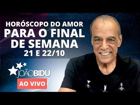 Horóscopo do Amor para o fim de semana 21e 22 de Outubro