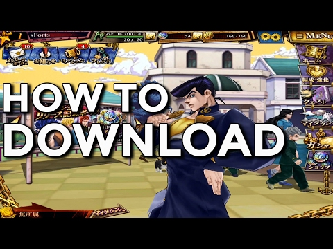 DIAMOND RECORDS! How to Download and Play! ジョジョDR