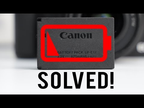 Canon M50 Bad Battery Life Solved!