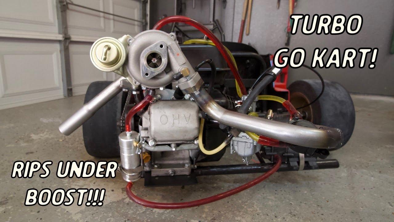 Turbo Go Kart Finally Makes Boost