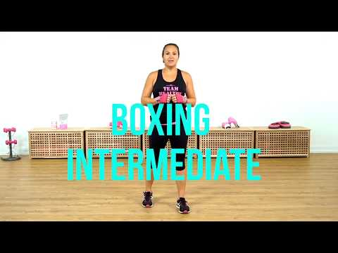 Intermediate Boxing Workout from the 28 Day Weight Loss Challenge